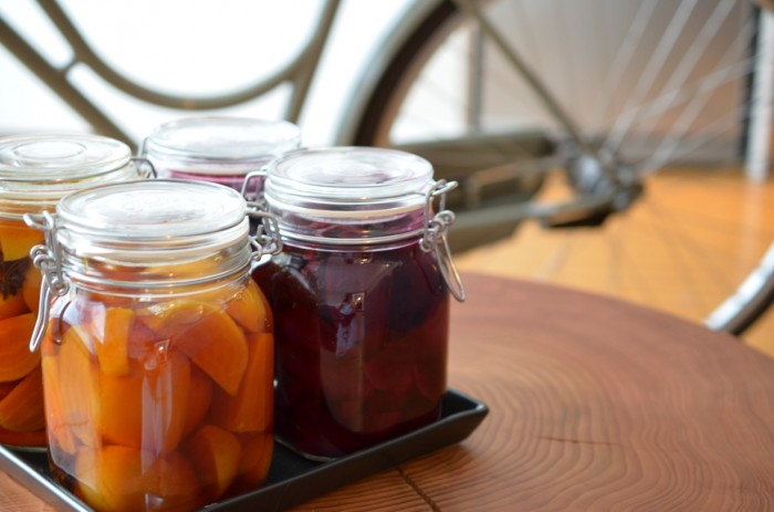 Gingered Pickled Beets