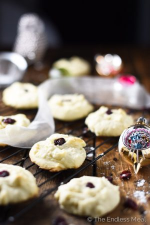 Melt in Your Mouth Shortbread Cookies
