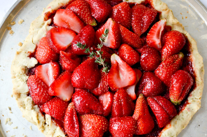 Medieval Strawberry Tart