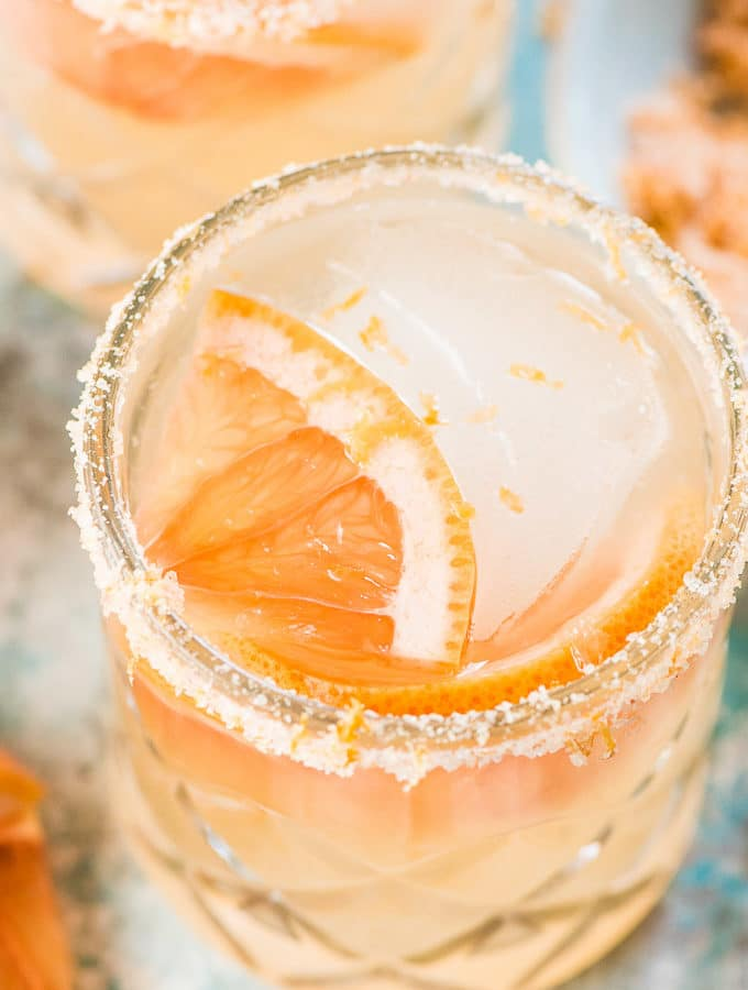 Delicious Grapefruit Margarita