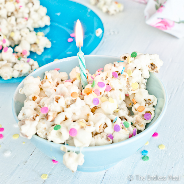 Birthday Cake Popcorn The Endless Meal