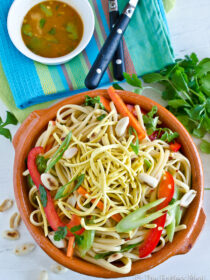 Healthy Asian Noodle Salad