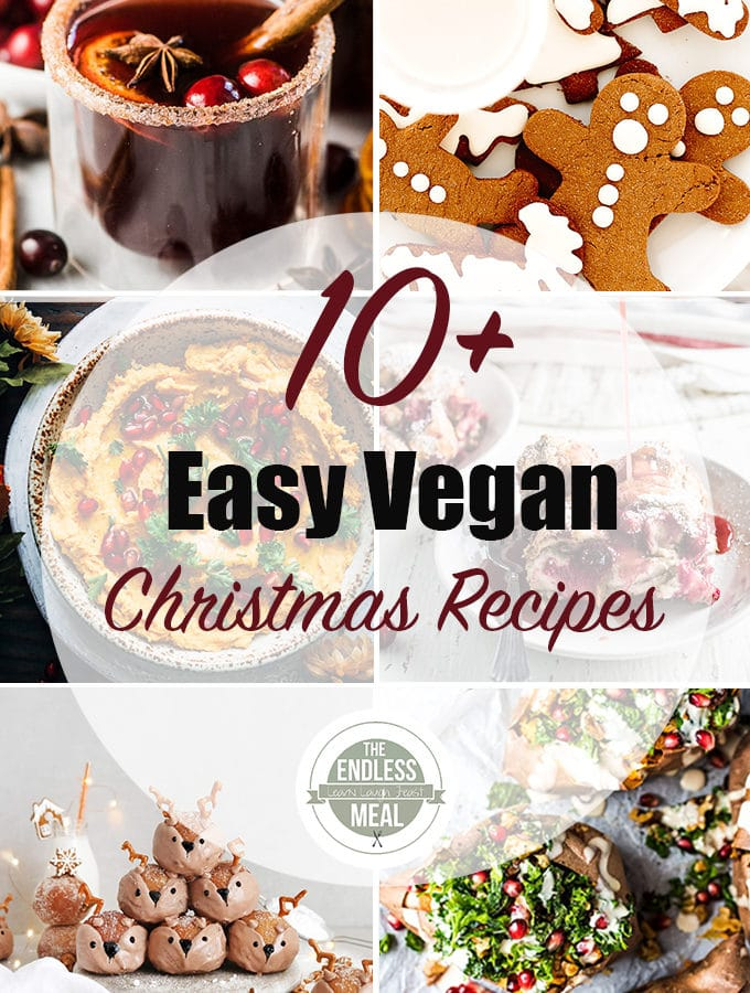 10+ Easy Vegan Christmas Recipes
