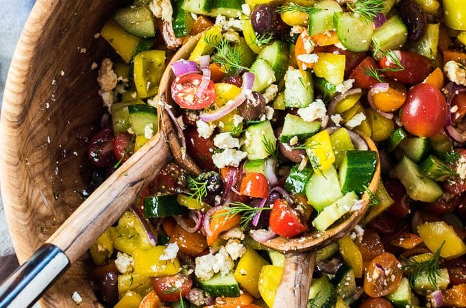 The best greek salad recipe the endless meal this is the greek salad recipe ive been making for years and it is forumfinder Image collections