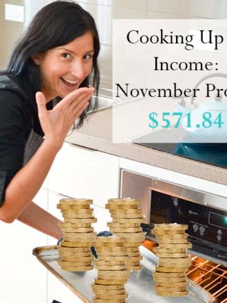 Cooking Up an Income - November Profits