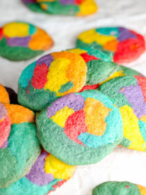 Rainbow Pride Cookies