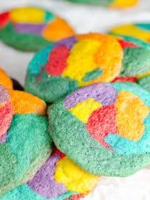 Rainbow Pride Cookies