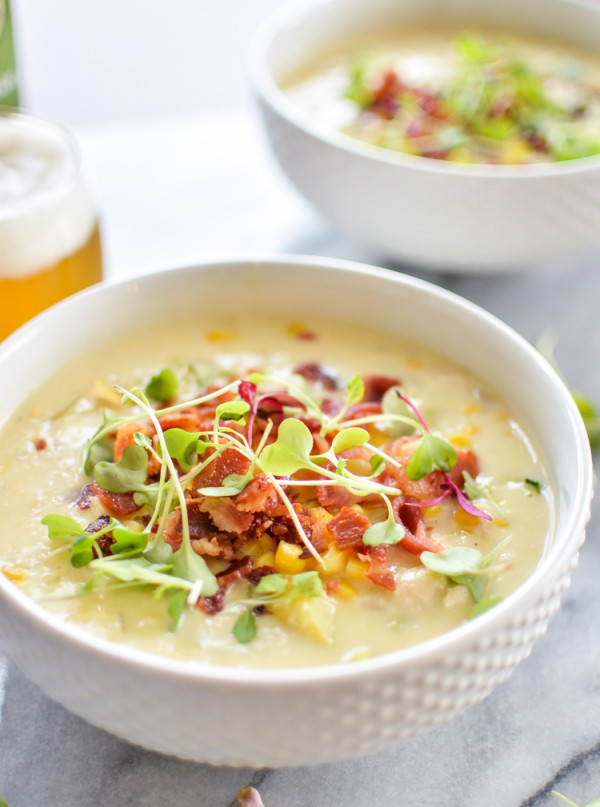 Sunday Suppers :: 09.21.14 :: White Bean and Chicken Corn Chowder