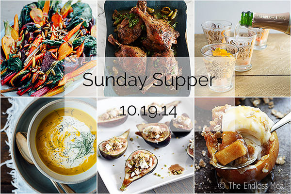 Sunday Supper :: 10.19.14 :: by The Endless Meal