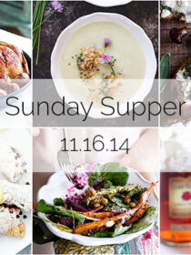 Sunday Supper :: 11.16.14 :: by The Endless Meal