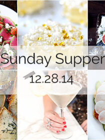 Sunday Supper :: 12.28.14 :: by The Endless Meal