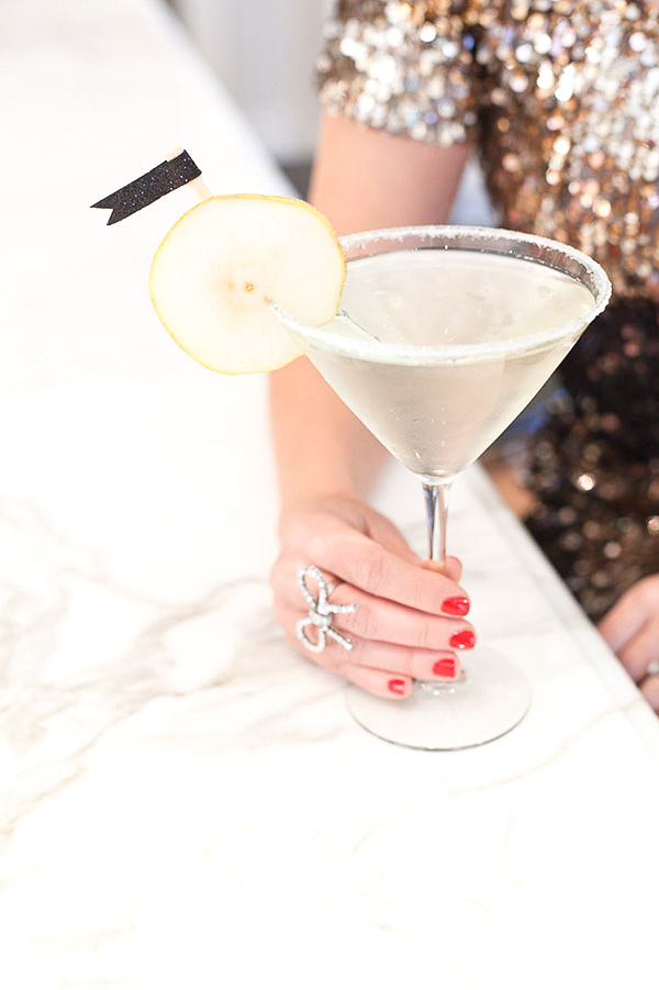 Sunday Supper :: 12.28.14 :: French Pear Martini