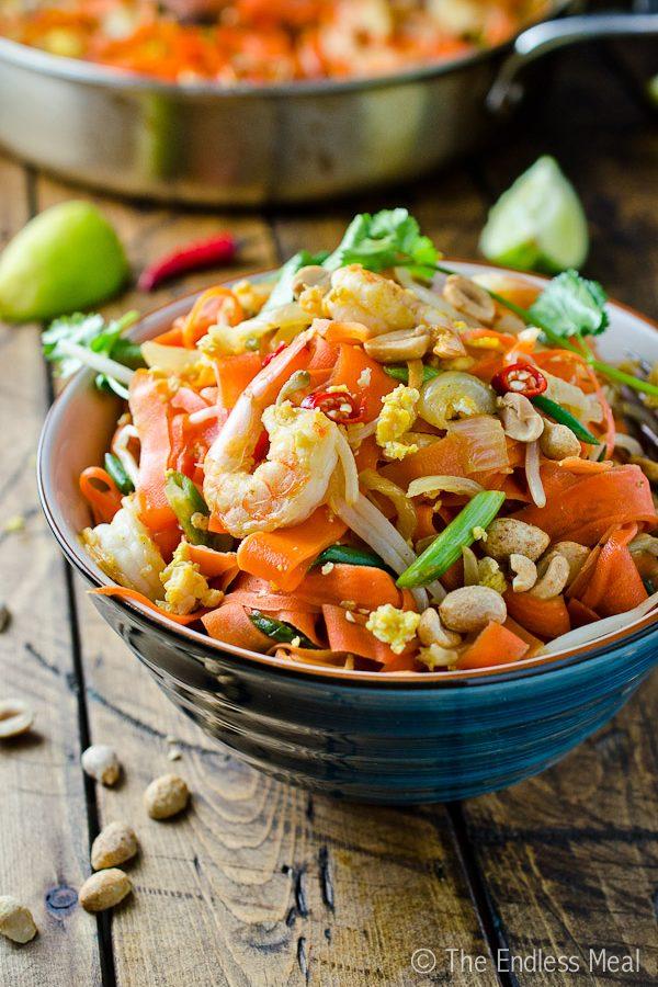 Carrot Noodle Pad Thai