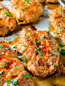 Sweet and Spicy Paleo Chicken Fingers