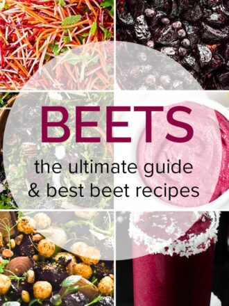 6 pictures of our favorite beet recipes.