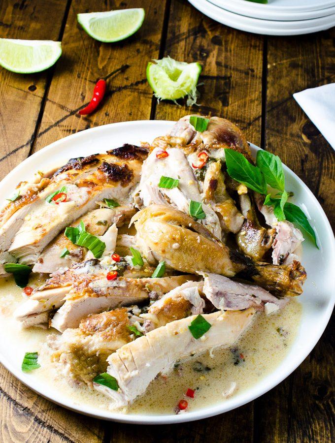 Coconut Milk Braised Chicken