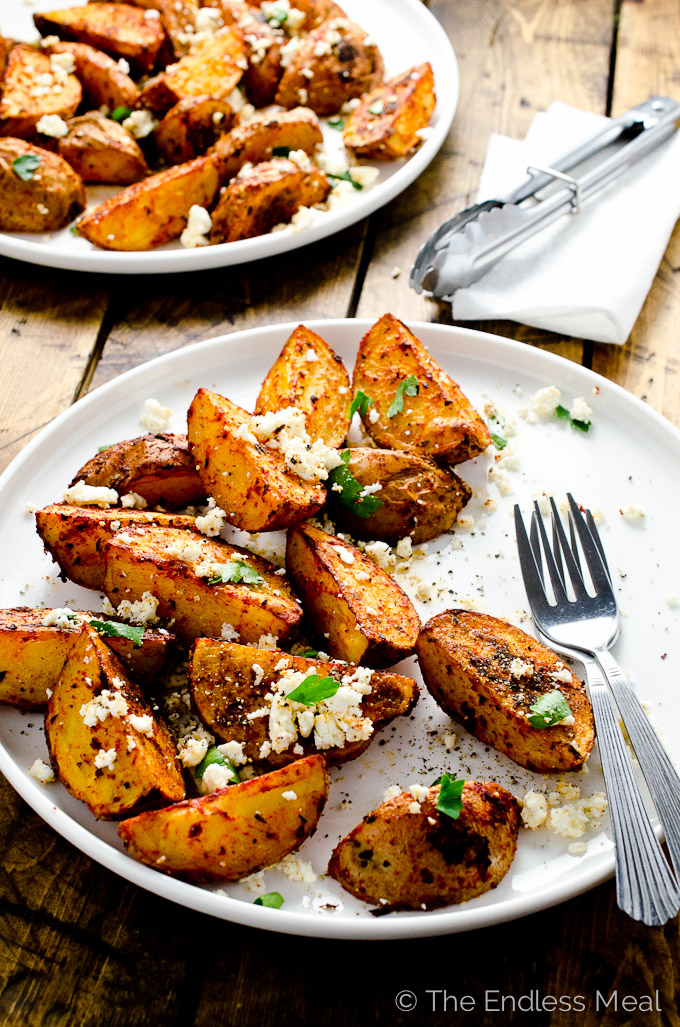 Smoky Roast Potatoes