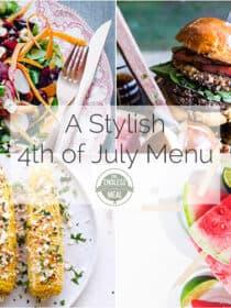 A Stylish 4th of July Menu