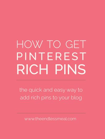 How to Get Pinterest Rich Pins for Your Blog