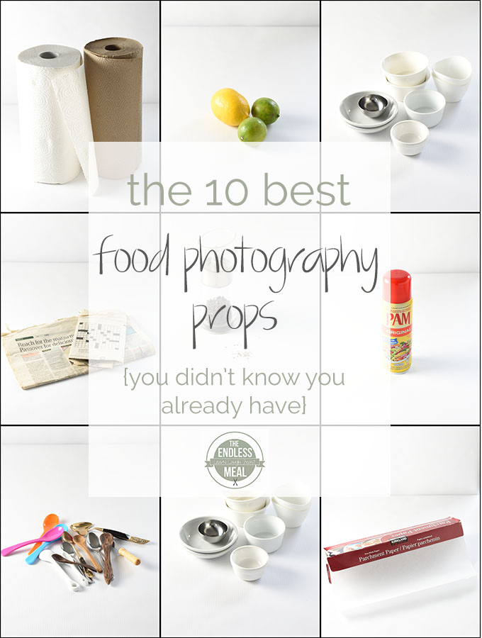 ? The 10 Best Food Photography Props | These everyday household items are the food photography props I use the most. |theendlessmeal.com