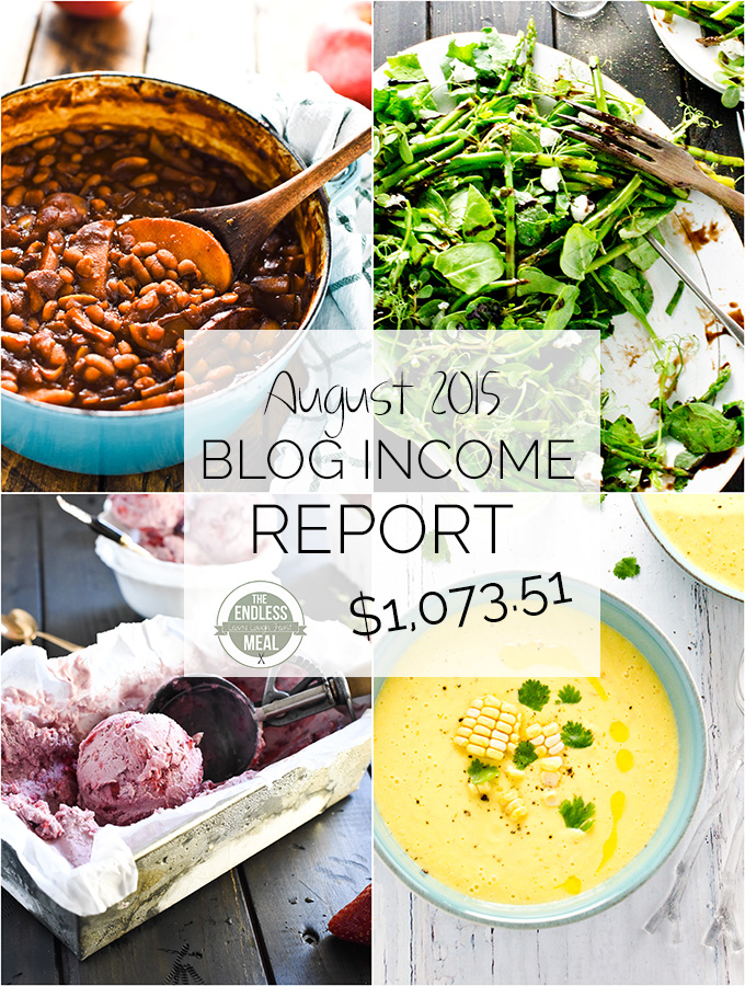 August's Blog Income Report