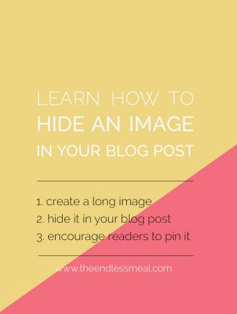 How to Hide a Long Image in a Blog Post