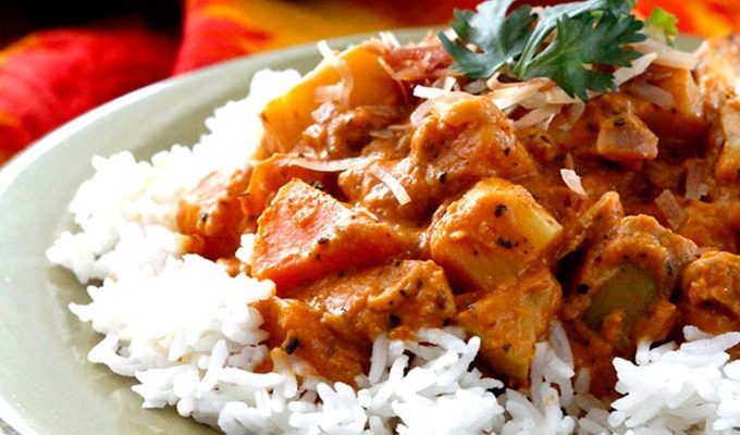 Coconut Fall Curry