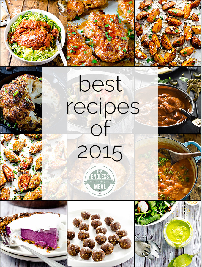 Reader's Choice Awards: these are the best recipes from 2015 | theendlessmeal.com