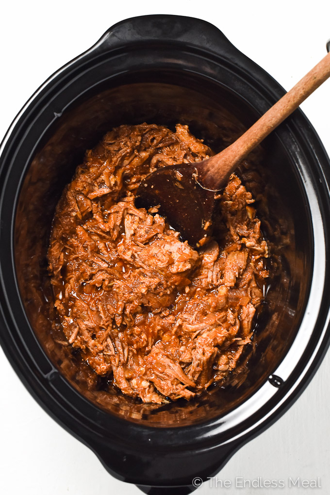 Mexican Crock Pot Pork Carnitas | theendlessmeal.com