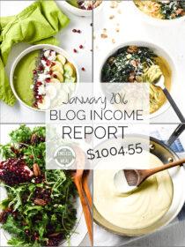 Food Blog Income Report - January 2016 | theendlessmeal.com