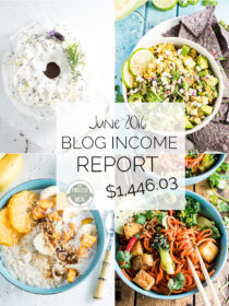 Blog Income Report for the food blog The Endless Meal. Learn all about how TEM earns and income and get lots of blog monetization and traffic growing strategies. | theendlessmeal.com
