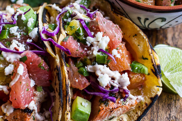 Cuban Fish Tacos by Half Baked Harvest | 15 Easy and Healthy Dinners for Back to School Season