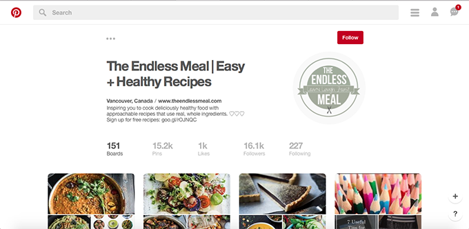This month's Blog Income Report shares an inside look at the traffic and monetization strategies used by the food blog The Endless Meal. In this report, also earn the 3 best Pinterest tips used to rapidly grow your Pinterest following. | theendlessmeal.com