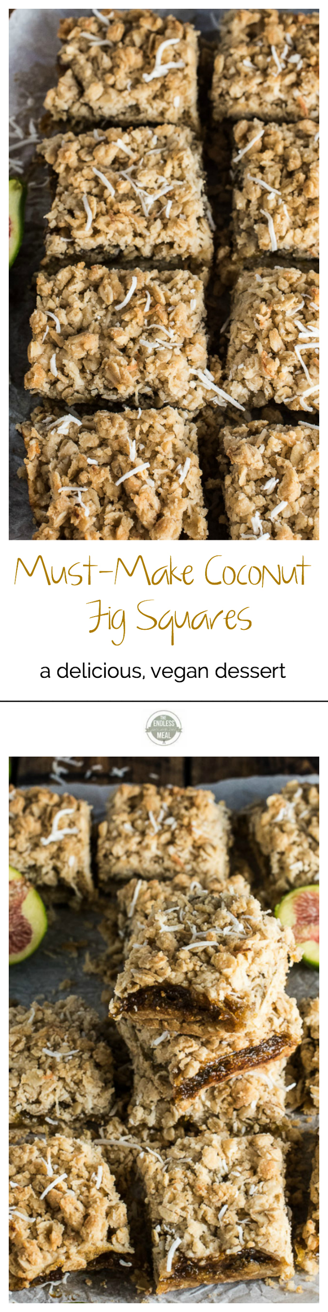 Must-Make Coconut Fig Squares | The Endless Meal