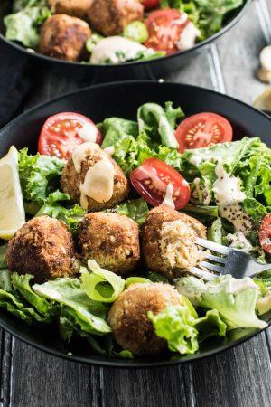 Tuna Po' Boy Salad Bowls