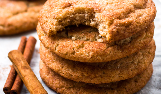 Gluten Free Snickerdoodles by Gluten Free with L.B. | The 15 Best Healthy Cookies