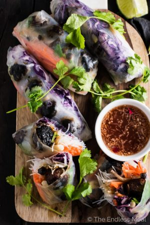 Banh Mi Winter Rolls