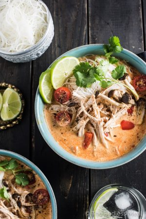 The Best Crock Pot Thai Chicken Soup