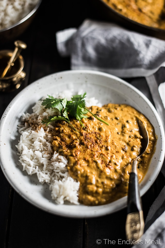 Coconut black lentil curry vegan dal makhani the endless meal coconut black lentil curry is a creamy and crazy delicious vegan curry recipe using coconut forumfinder Image collections