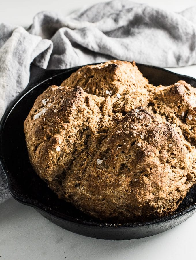 Easy Whole Wheat Irish Soda Bread