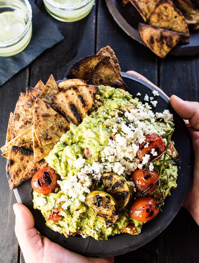 Chunky Grilled Guacamole