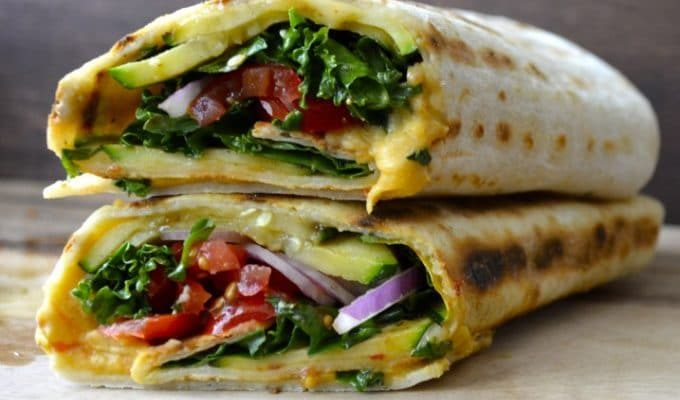 Grilled Zucchini Hummus Wrap by Maebells | The 15 Best Healthy Summer Grilling Recipes