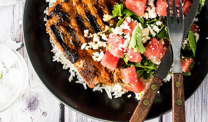 Grilled Gochujang Pork Chops by The Endless Meal | The 15 Best Healthy Summer Grilling Recipes