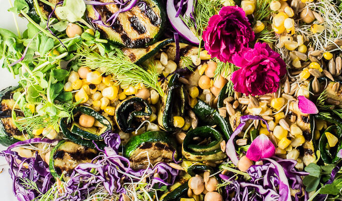Grilled Zucchini Salad by The Endless Meal | The 15 Best Healthy Summer Grilling Recipes