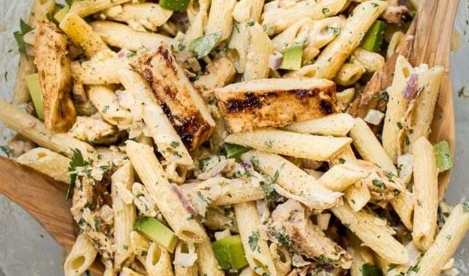 Grilled Chicken Salad by Salt and Lavender | The 15 Best Healthy Summer Grilling Recipes