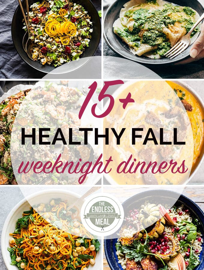 The 15 Best Healthy Fall Weeknight Dinners