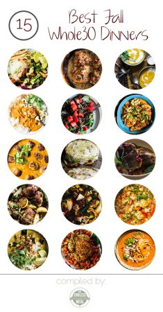 The 15 Best Fall Whole30 Dinner Recipes