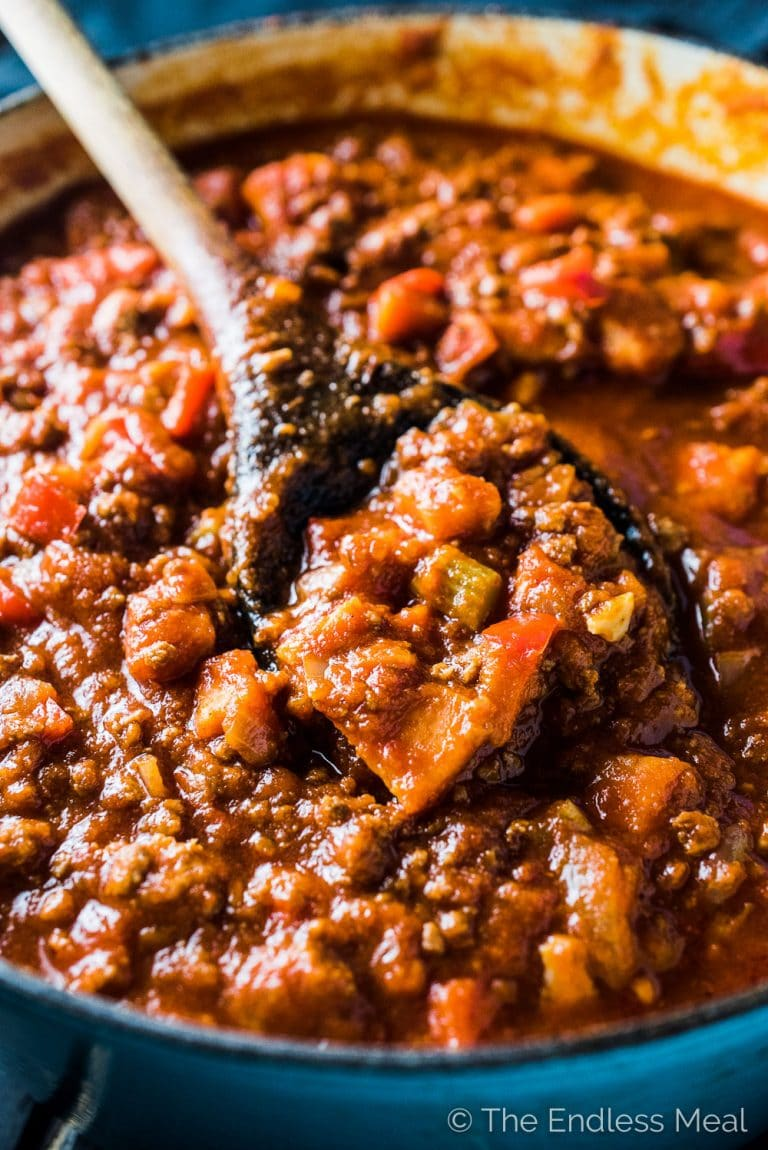 Easy Paleo Chili Recipe The Endless Meal