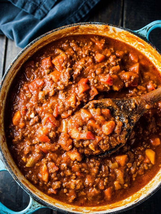 Easy Paleo Chili Recipe