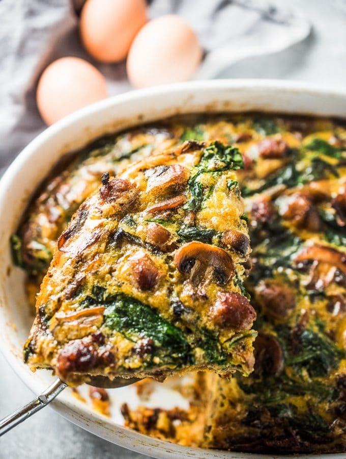 Sausage and Egg Breakfast Bake